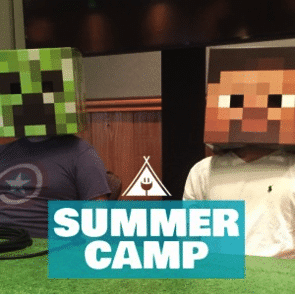 "Connected Camps ""Online Summer of Minecraft"" - summer camp"