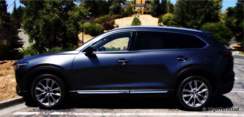 HighTechDad 2016 Mazda CX-9 Review - stylized side view