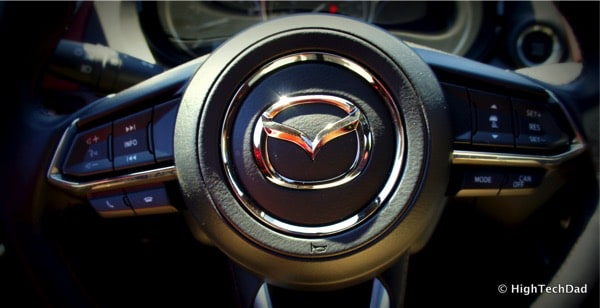HighTechDad 2016 Mazda CX-9 Review - steering wheel controls