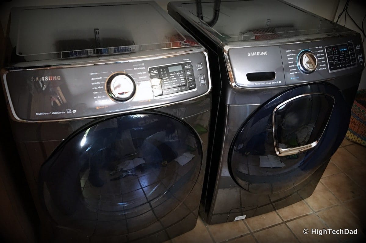 Review: 2016 Samsung Clothes Washer - Massive, Many Settings