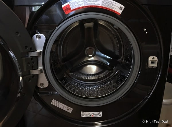 2016 Samsung Clothes Washer (Model WF50K7500AV) Review - door and drum