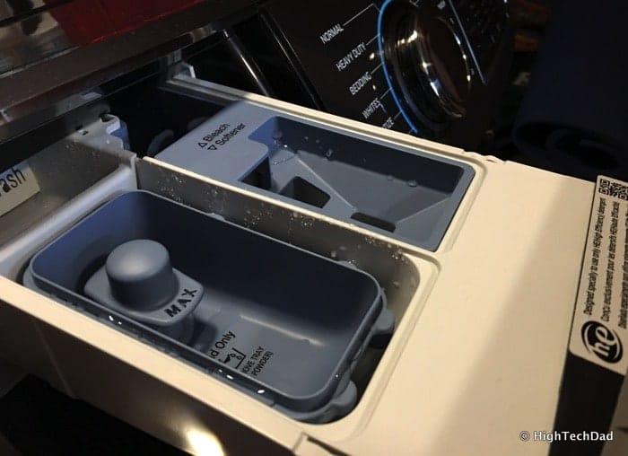 2016 Samsung Clothes Washer (Model WF50K7500AV) Review - detergent drawer