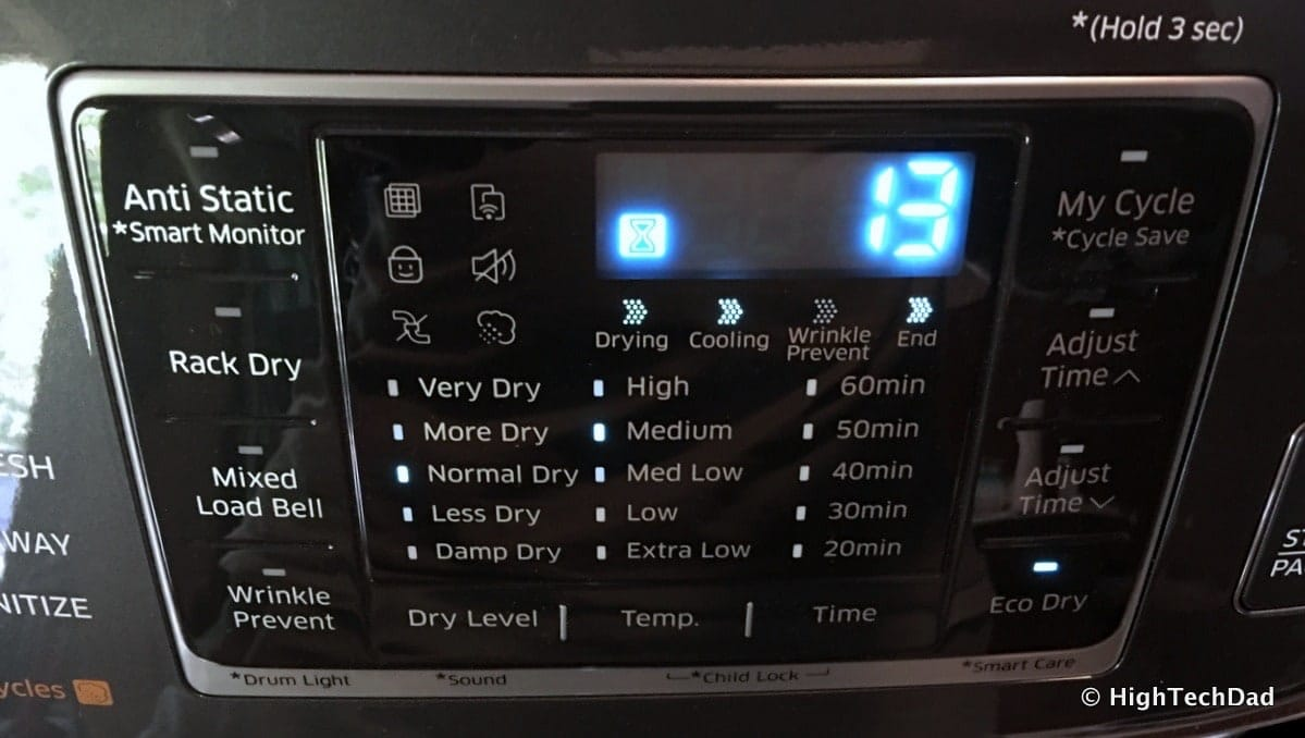 watch 7281b cb05b Review: 2016 Samsung Clothes Dryer - Super-Sized, Several ...