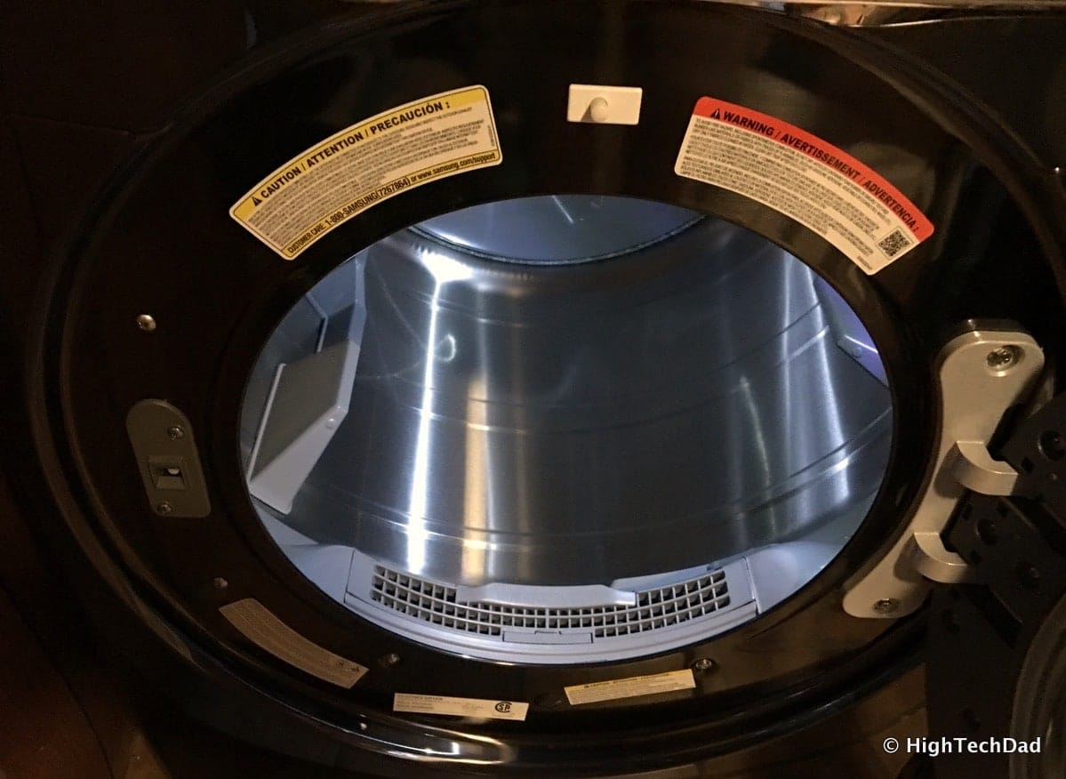 Review: 2016 Samsung Clothes Dryer - Super-Sized, Several
