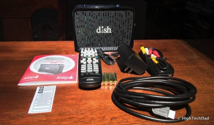 HTD - How To Set Up a DISH Wireless Joey - in the package