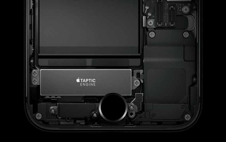 iPhone 7 Plus - home button