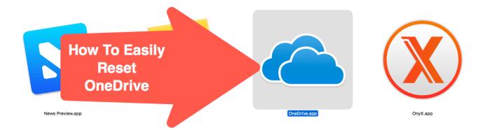 Reset OneDrive - icon