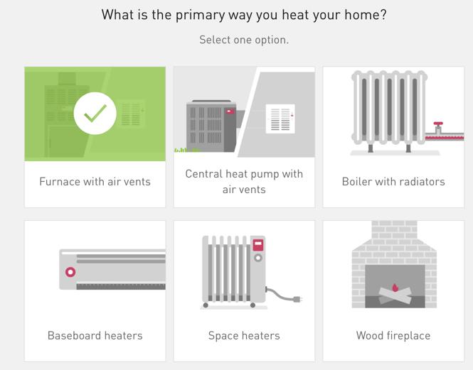 PGE - Survey (Heat type)