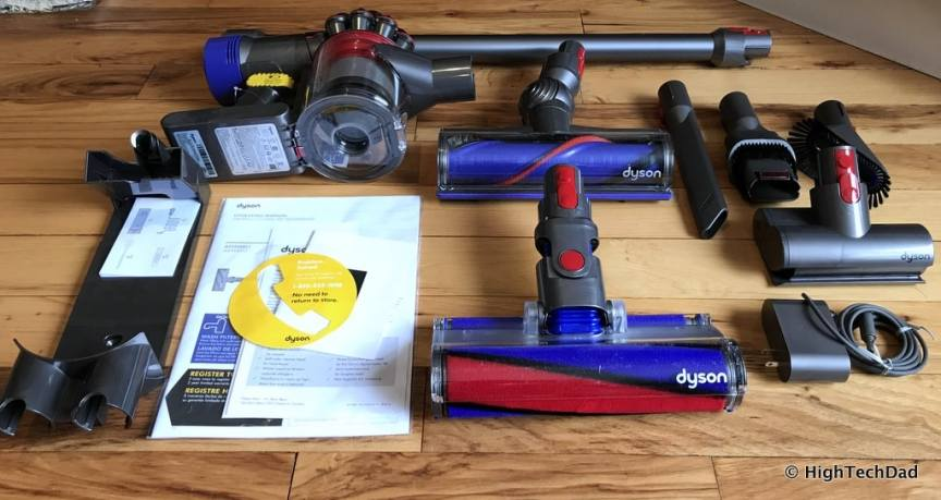 Dyson V8 Absolute - what's in the box