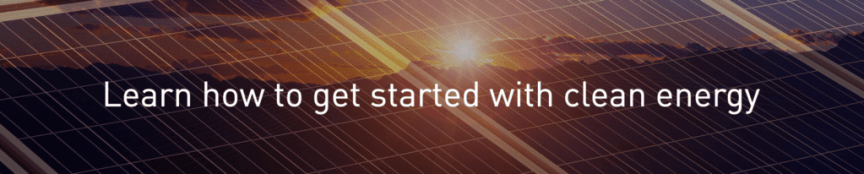 PG&E Renewable Energy Tools & Solar Panel info - get started
