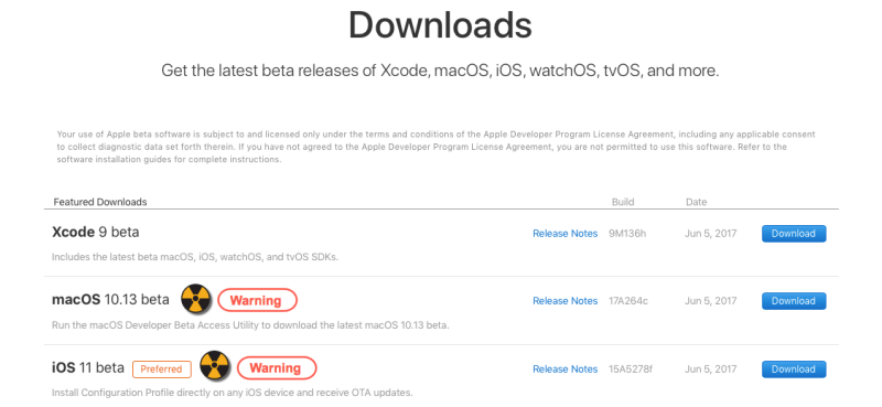 Apple beta iOS 11 & macOS 10.13 tips and tricks - downloads