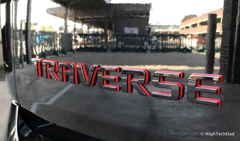 HTD 2018 Chevy Traverse - Redline emblem
