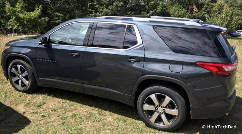 HTD 2018 Chevy Traverse - side view