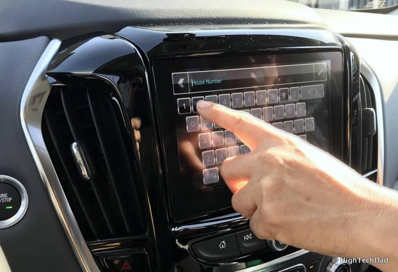 HTD 2018 Chevy Traverse - navigation