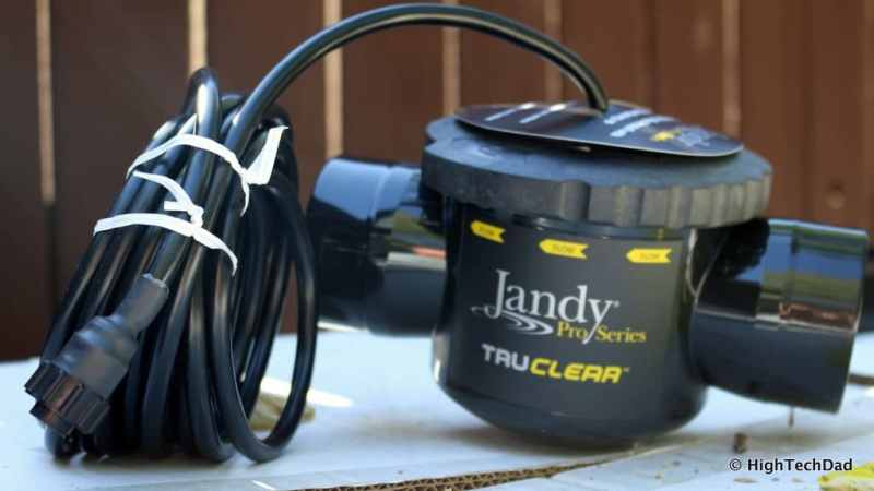 HTD pool upgrade - Jandy Pro TruClear Saltwater Chlorinator
