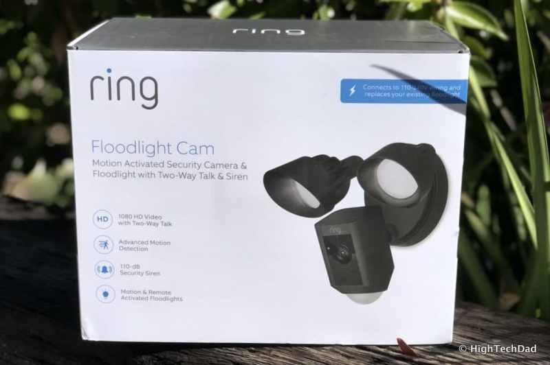 Ring Floodlight Cam - box