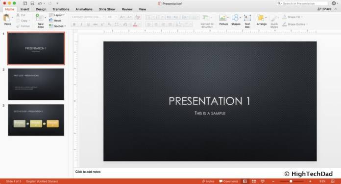 HTD PowerPoint Design - Presentation 1
