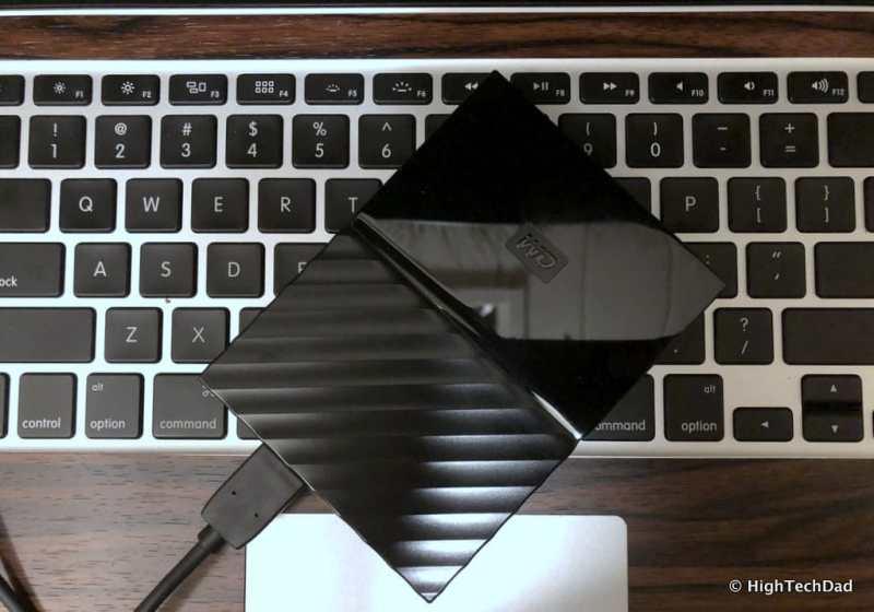 HTD Western Digital My Passport - external hard drive