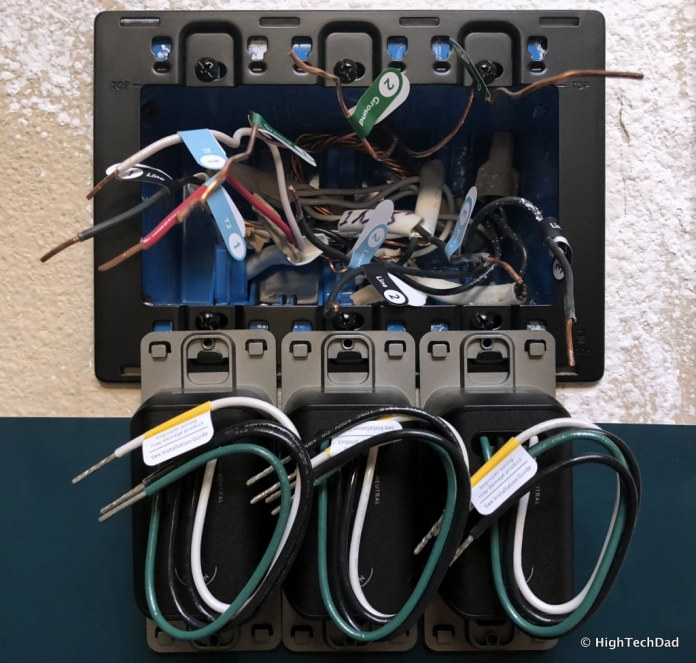 Noon Home Intelligent Switches - hang switches