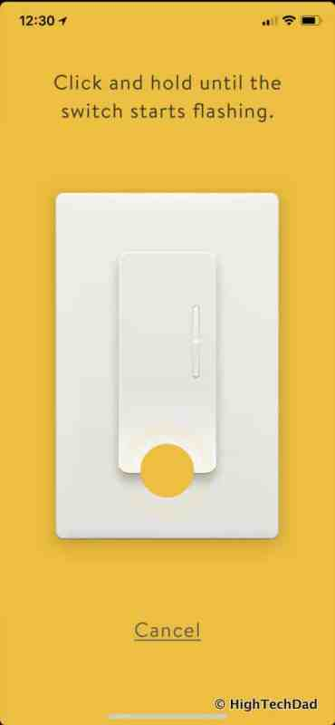 Noon Home Intelligent Switches - extension flashing