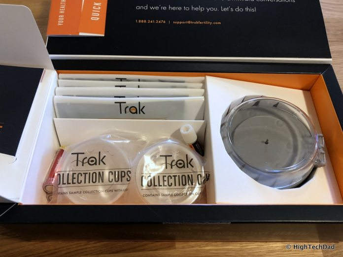 Trak Male Fertility Testing System - 4 test kits