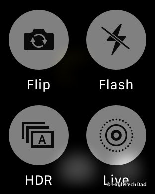 Apple Watch Tips & Tricks - camera options