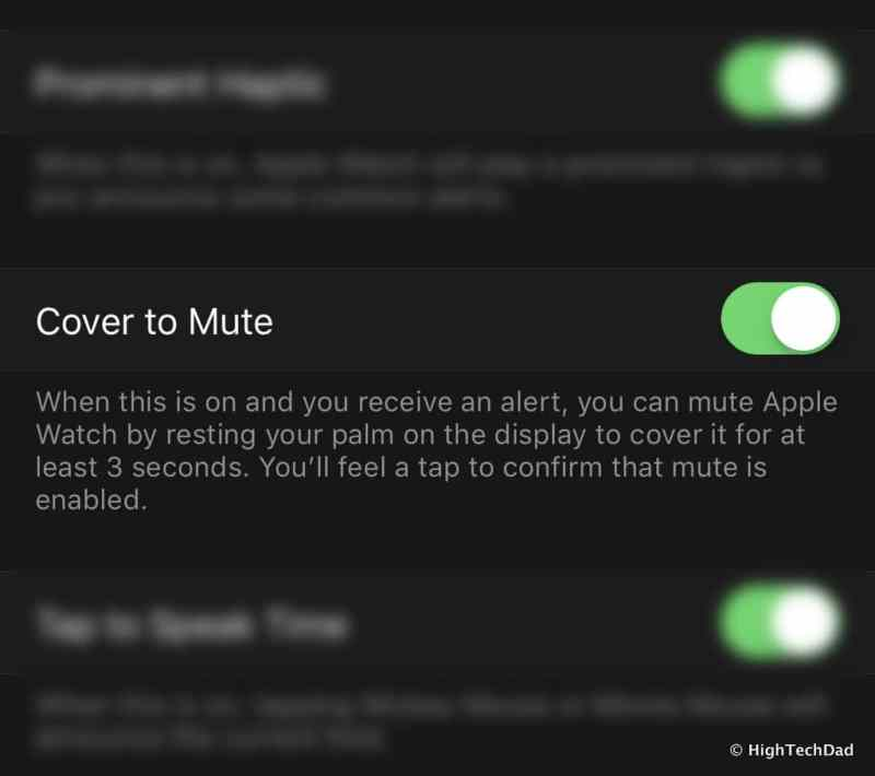 Apple Watch Tips & Tricks - cover to mute