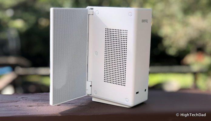 HTD BenQ treVolo S speaker review - side & back