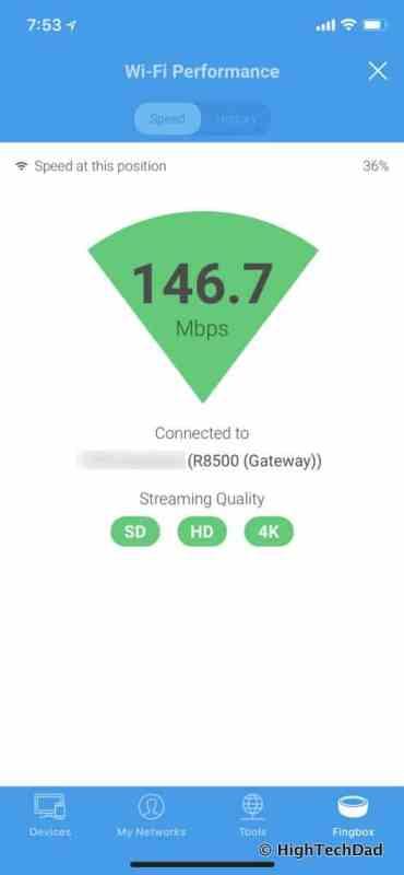 Fingbox Review - WiFi Performance