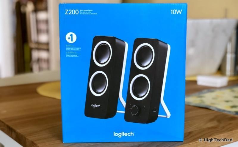 HTD Logitech Speaker review - Z200