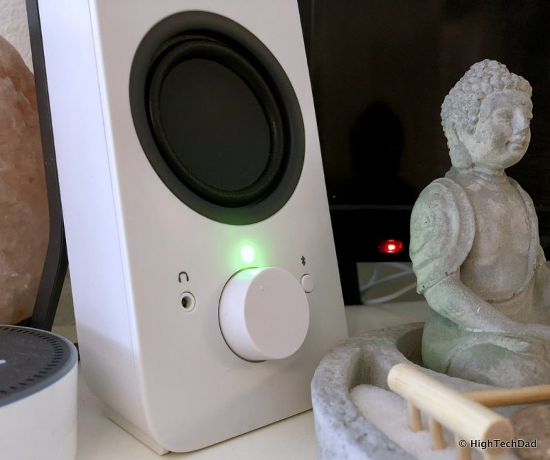 HTD Logitech Speaker review - speaker on