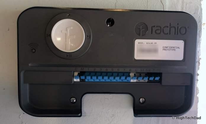 HTD Rachio Gen3 Review - Gen3 mounted