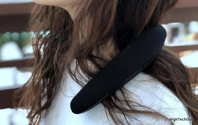 JBL Soundgear review - neck