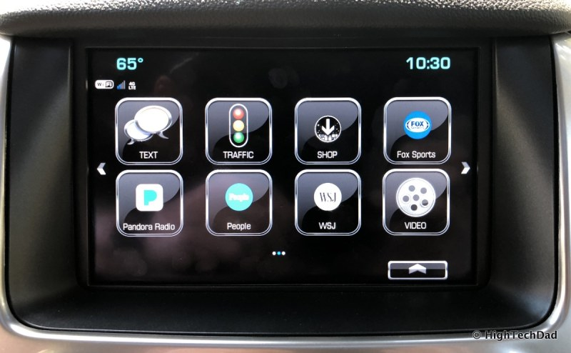 2018 Chevy Tahoe - more infotainment