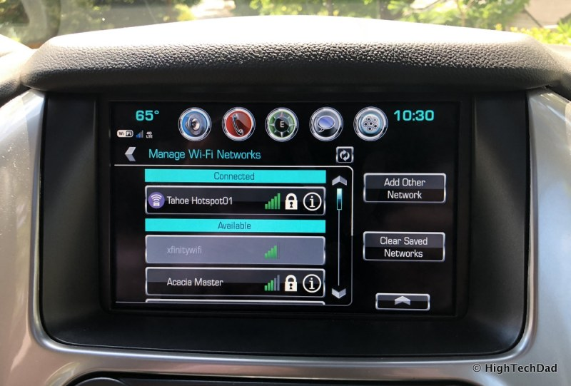 2018 Chevy Tahoe - in-vehicle hotspot & WiFi