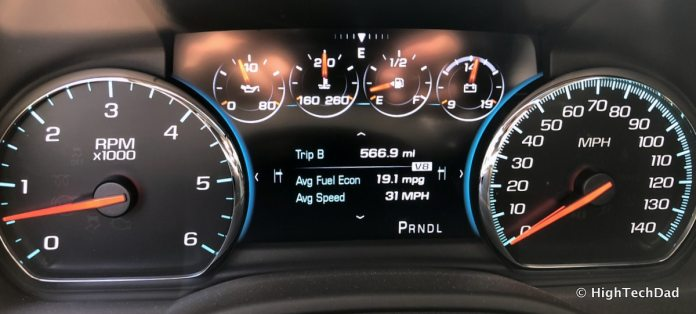 2018 Chevy Tahoe - gas mileage