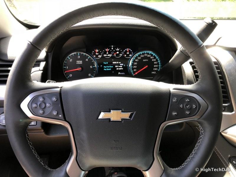 2018 Chevy Tahoe - steering wheel
