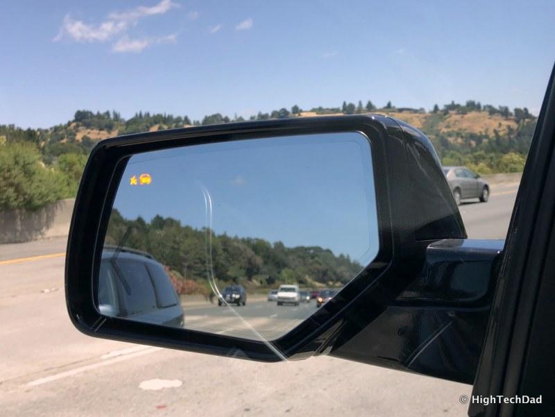 2018 Chevy Tahoe - blind spot indicators