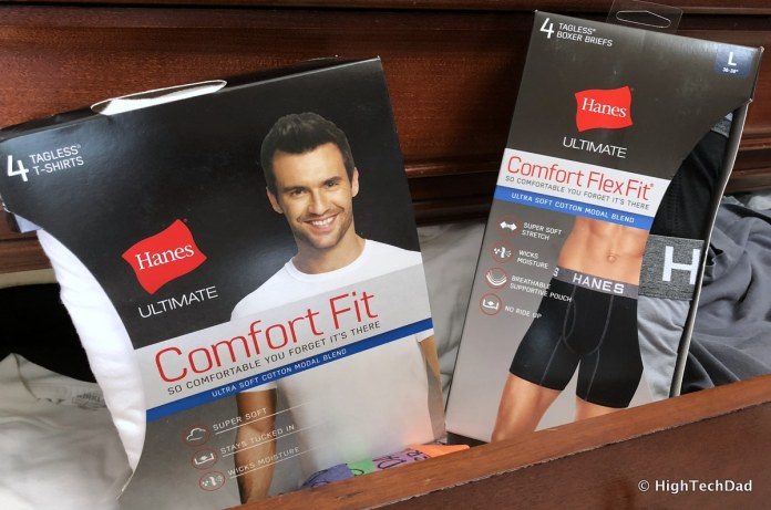 BabbleBoxx Gifts for Grads & Dads - Hanes Boxers & Undershirts