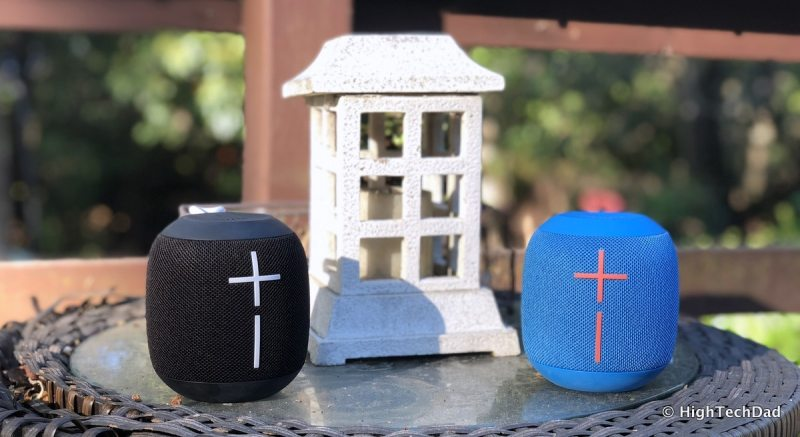 Ultimate Ears Wonderboom Bluetooth speakers review - speakers
