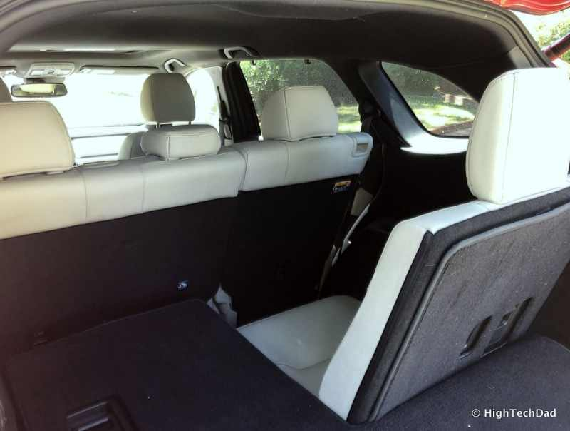 HTD 2018 Mazda CX-9 Review - rear seats