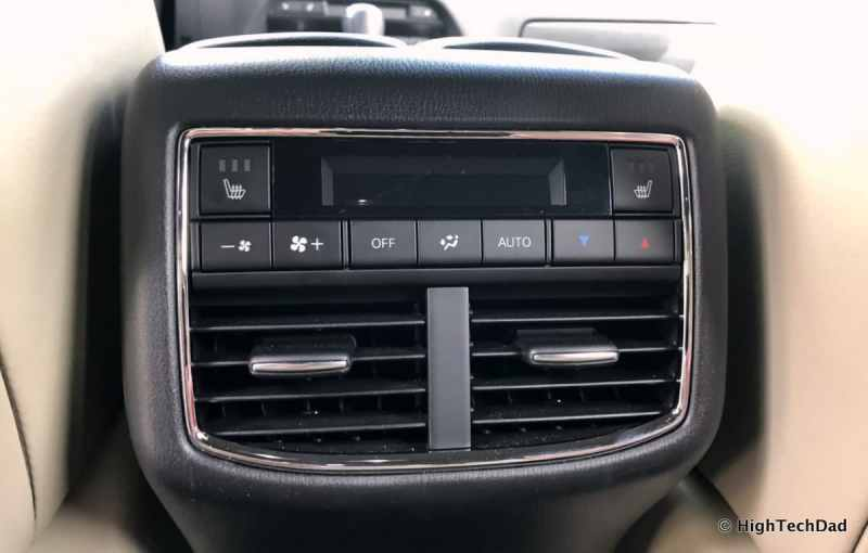 HTD 2018 Mazda CX-9 Review - rear climate controls