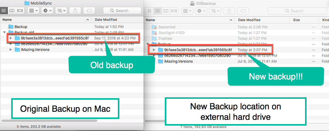 How To Easily Change the iOS iTunes Backup Location to an External