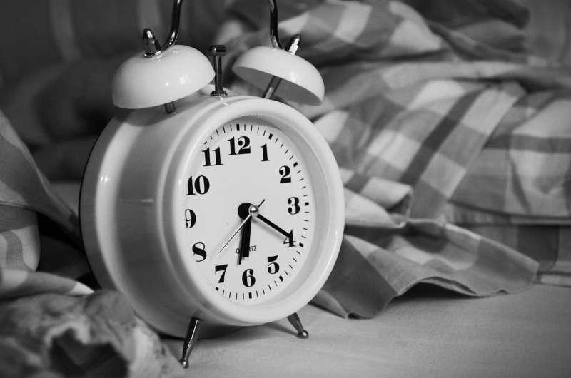 HighTechDad Sleep Tips & California Design Den Sheets - alarm clock