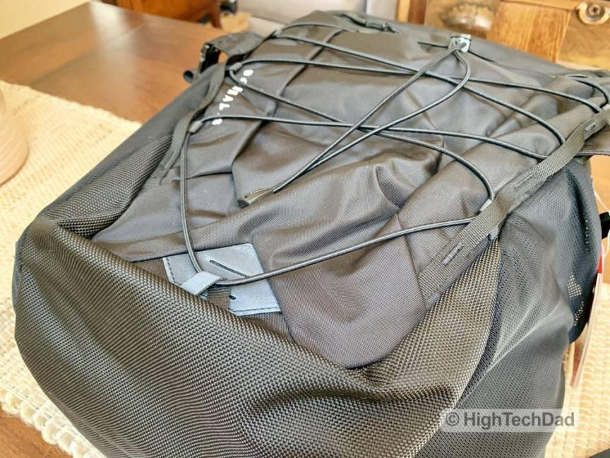 HighTechDad Backpacks.com The North Face Borealis backpack review - construction