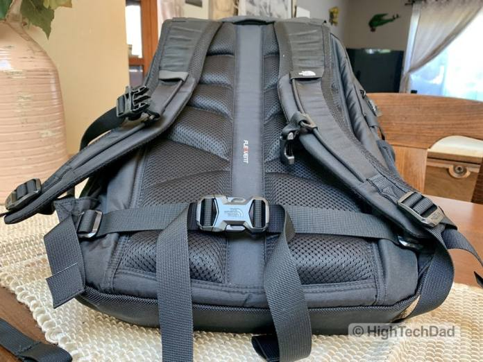 HighTechDad Backpacks.com The North Face Borealis backpack review - waist belt