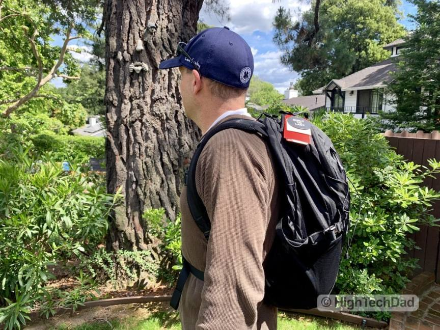 HighTechDad Backpacks.com The North Face Borealis backpack review - on HighTechDad
