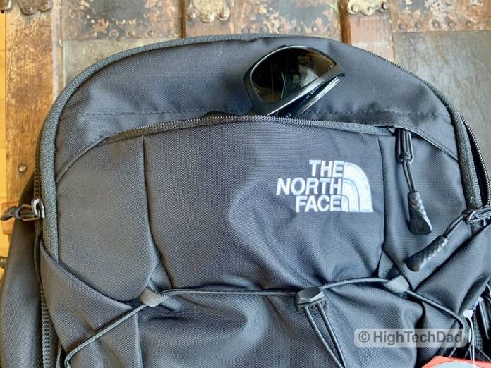 HighTechDad Backpacks.com The North Face Borealis backpack review - sunglass holder