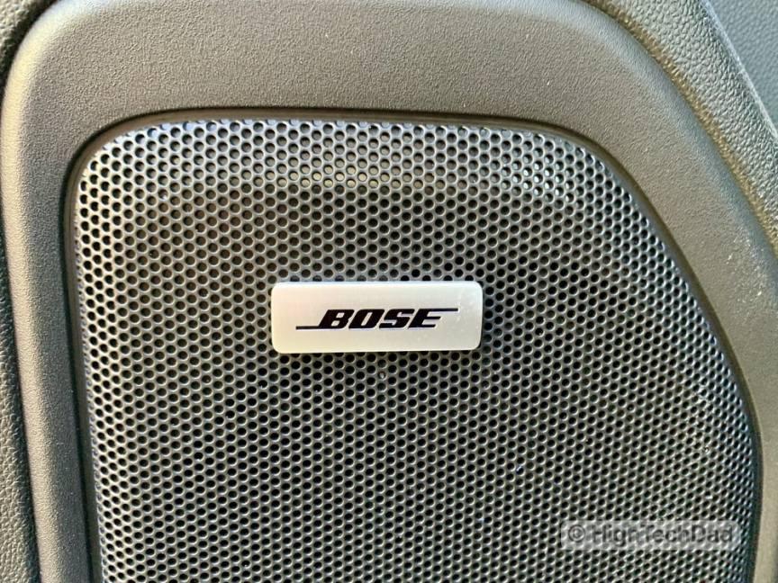 HighTechDad Review 2019 Chevy Silverado - Bose Premium Sound