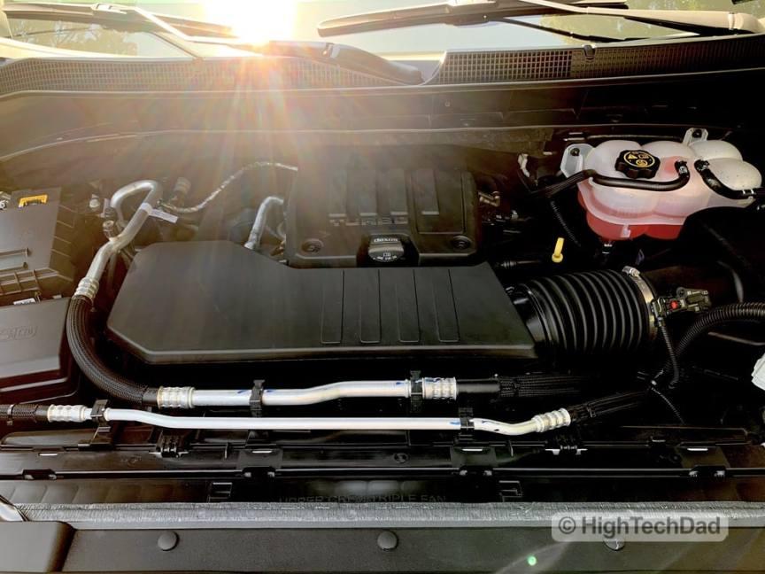 HighTechDad Review 2019 Chevy Silverado - engine